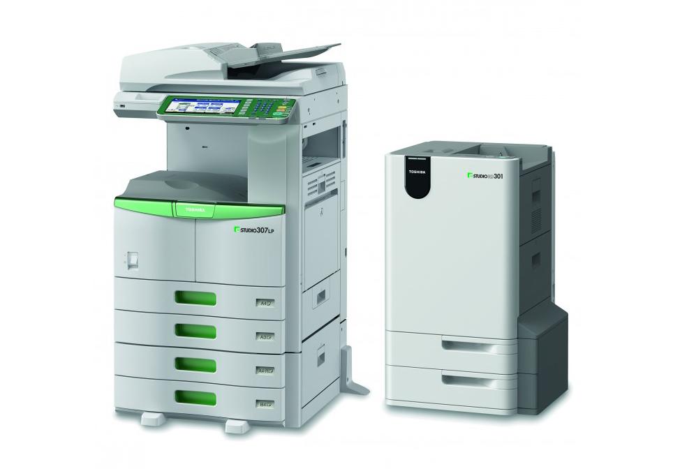 Toshiba e-STUDIO307LP stampa sostenibile